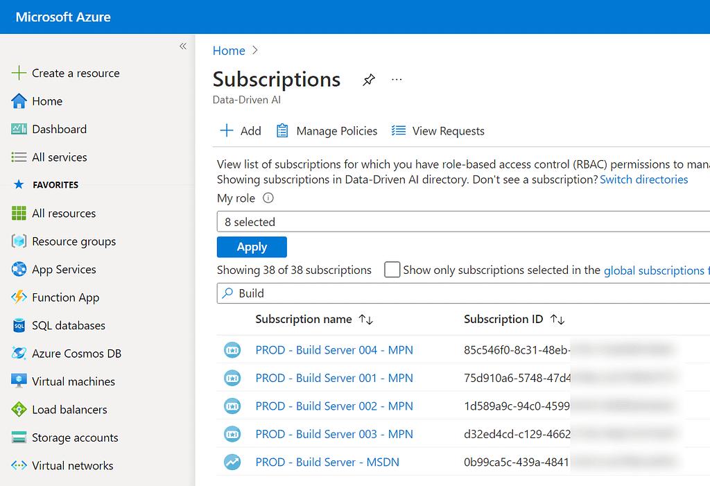 AzureSubscriptions