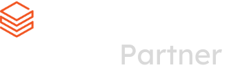 Databricks Partner Logo - white